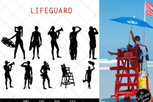 Lifeguard svg file