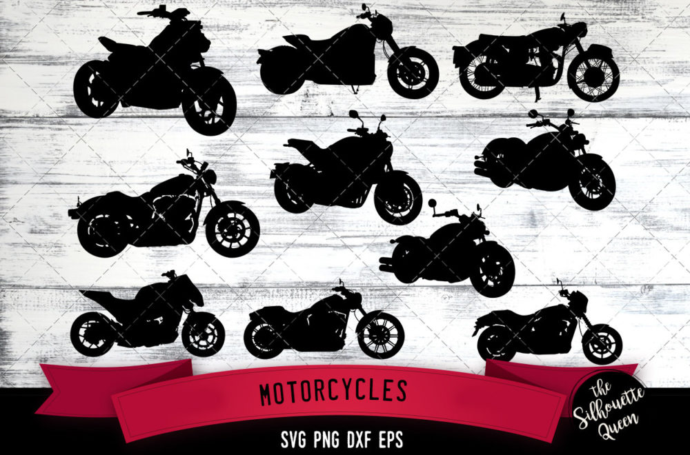 Motorcycle svg file