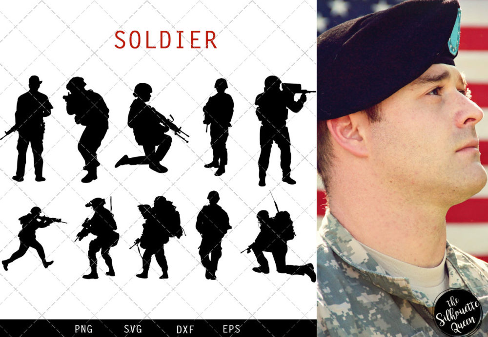 Soldier svg file