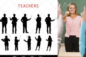 Teachers svg file