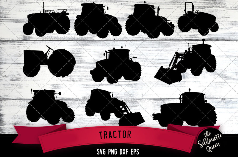 Tractor svg file