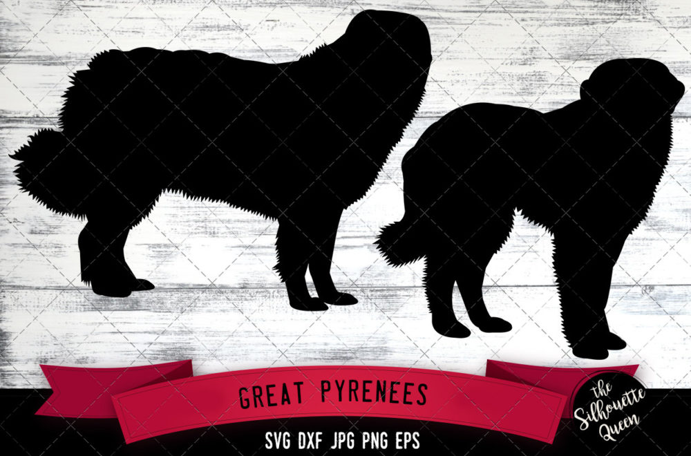 Great Pyrenees SVG Files
