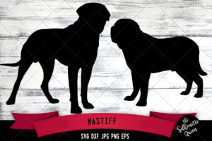 Mastiff SVG Files