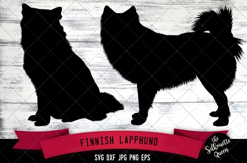 Finnish Lapphund SVG Files