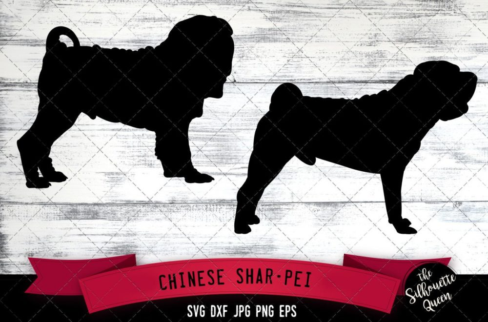 Chinese Shar Pei SVG Files