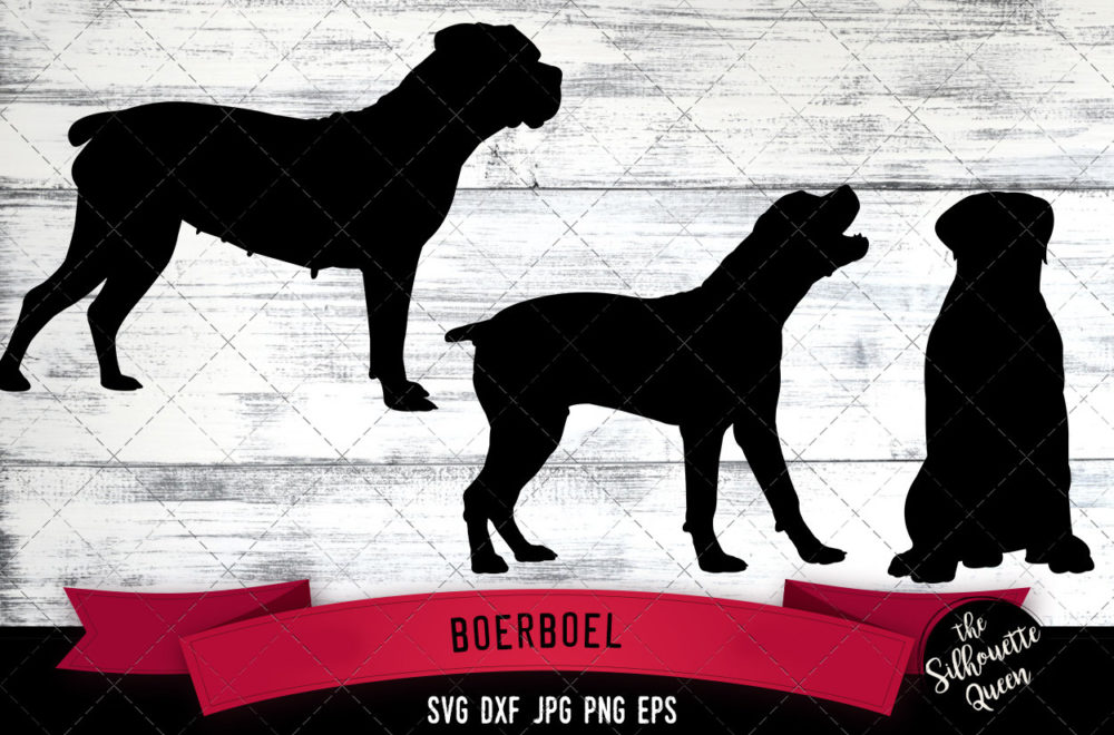 Boerboel SVG Files