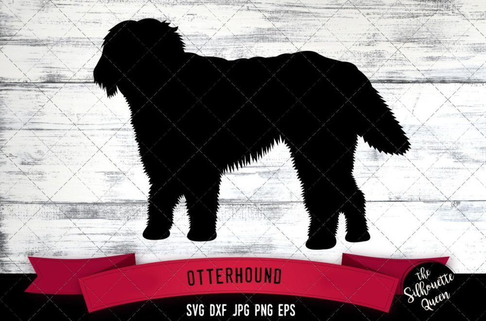 Otterhound SVG Files