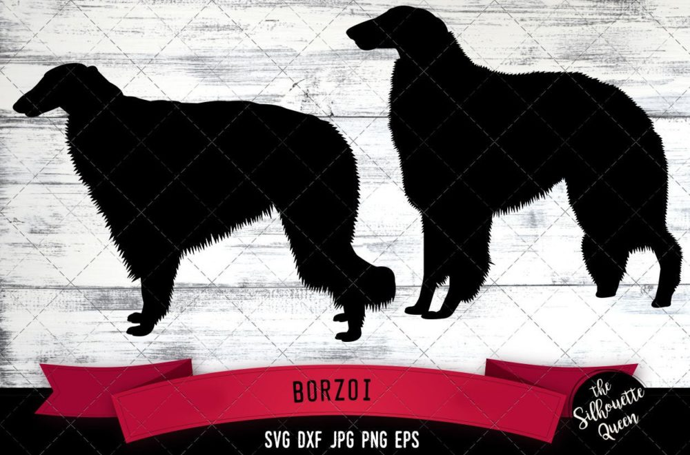Borzoi SVG Files