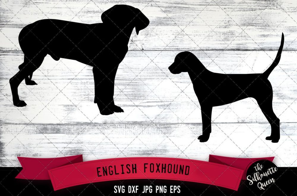 English Foxhound SVG Files