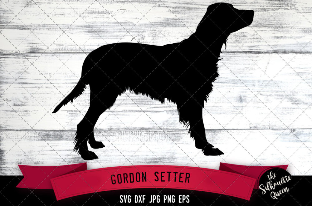 Gordon Setter SVG Files