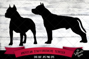 American Staffordshire Terrier SVG Files