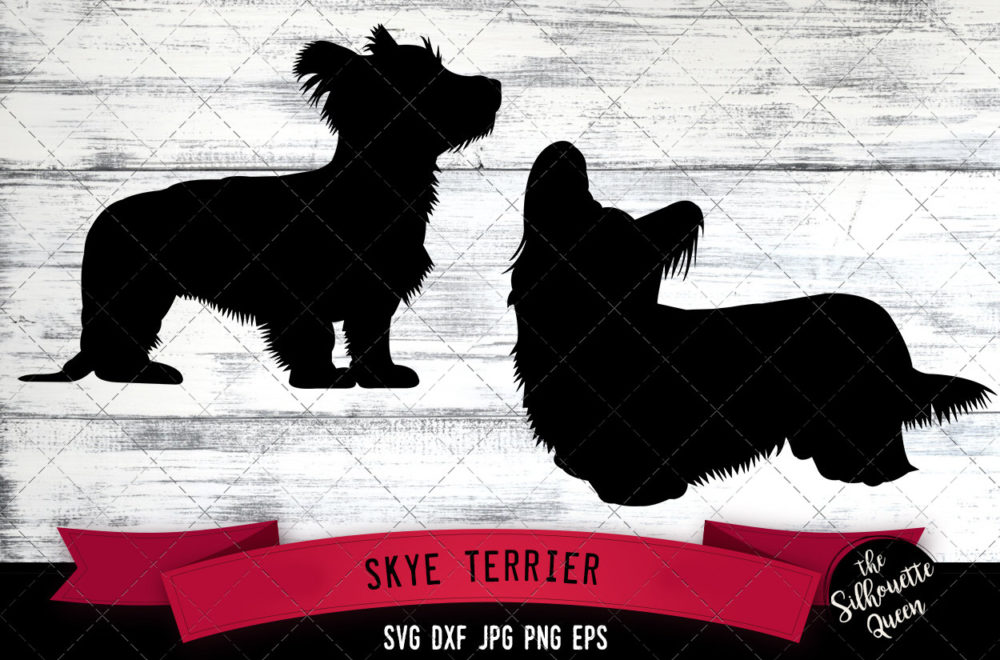 Skye Terrier SVG Files