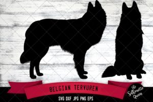 Belgian Tervuren SVG Files