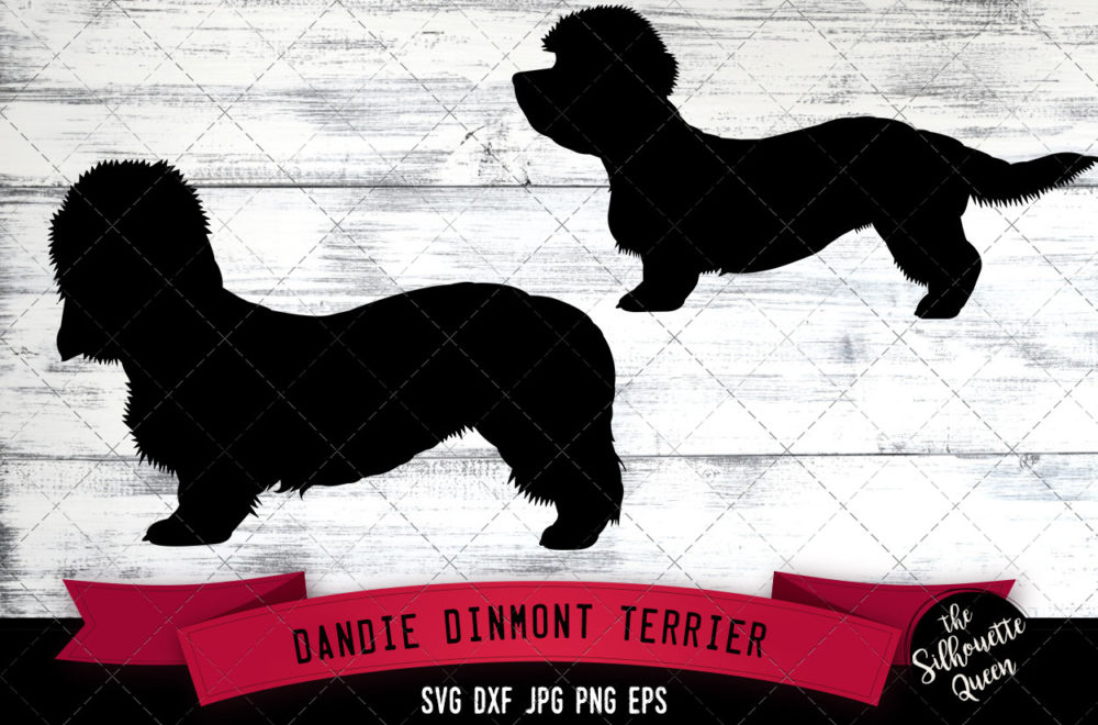 Dandie Dinmont Terrier SVG Files