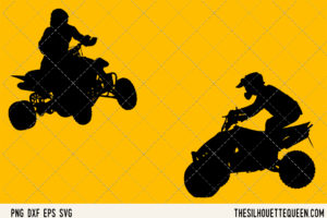 ATV Quad Motocross SVG Bundle for Cutting