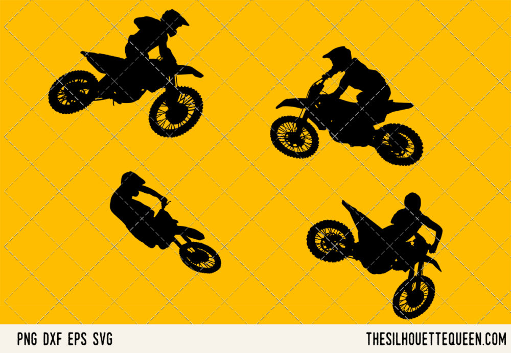 Motocross SVG Bundle for Cutting
