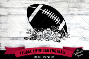 American football Ball SVG file