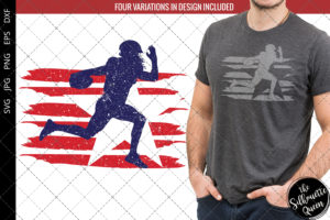 American Football -1 flag svg