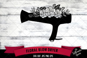 Blow Dryer SVG file