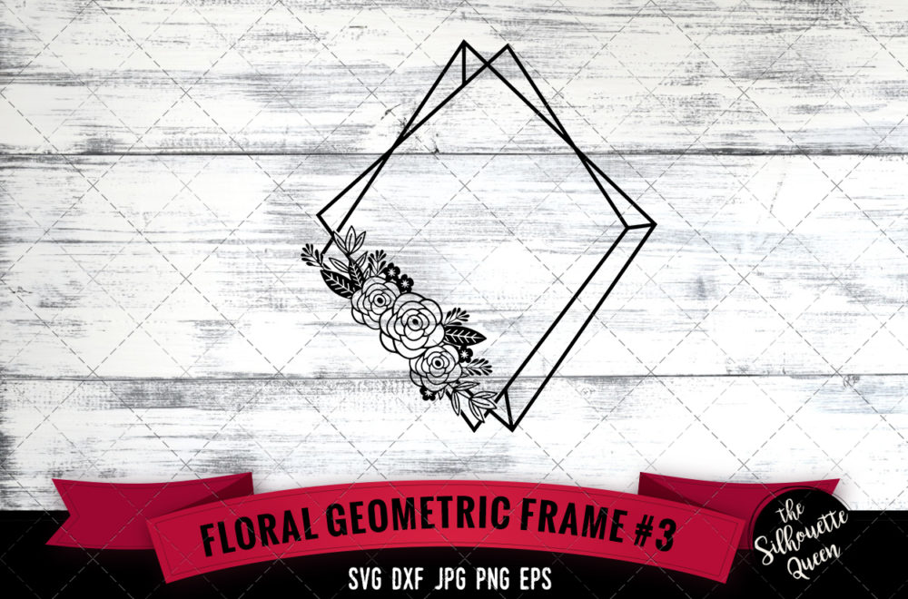 Geometric frame 3 SVG file