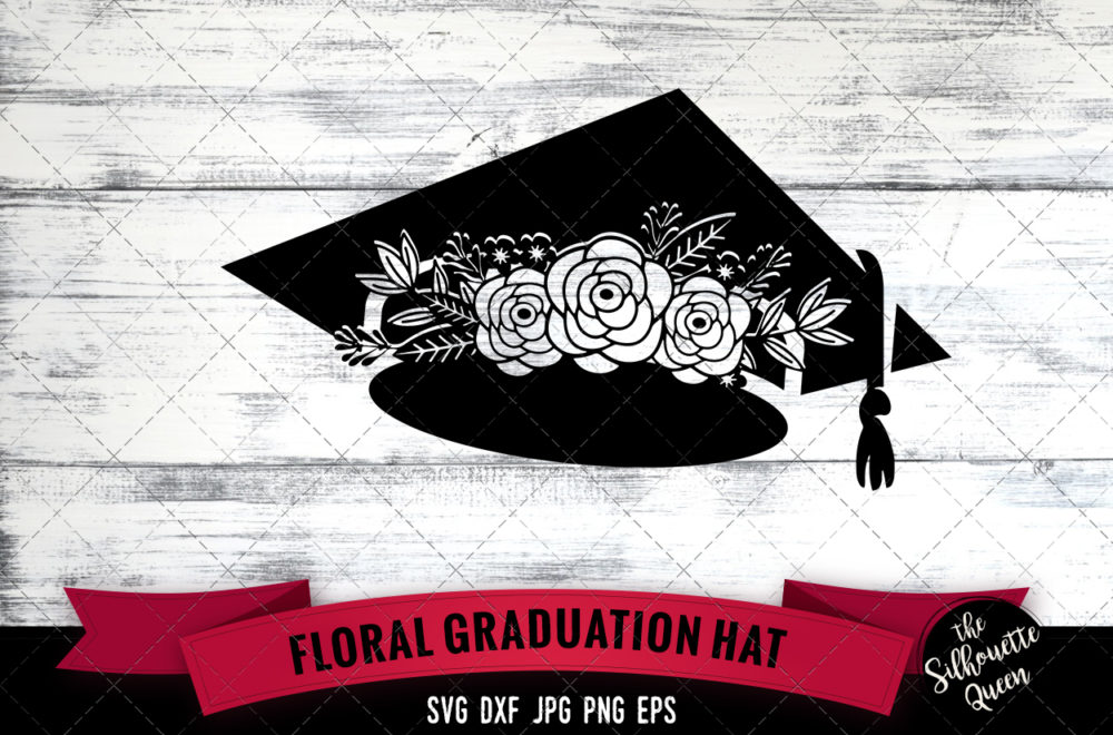 Graduation Hat SVG file