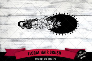 Hair Brush SVG file