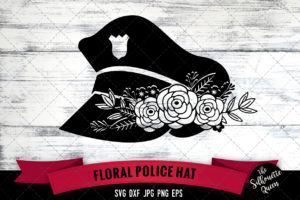 Police Hat SVG file