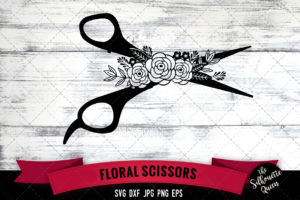 Scissors SVG file