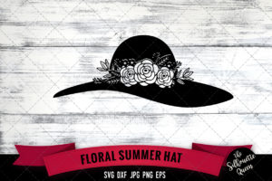 Summer Hat SVG file
