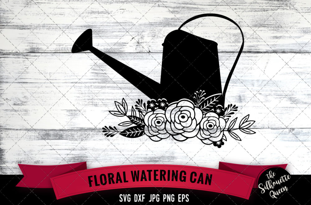 Watering Can SVG file