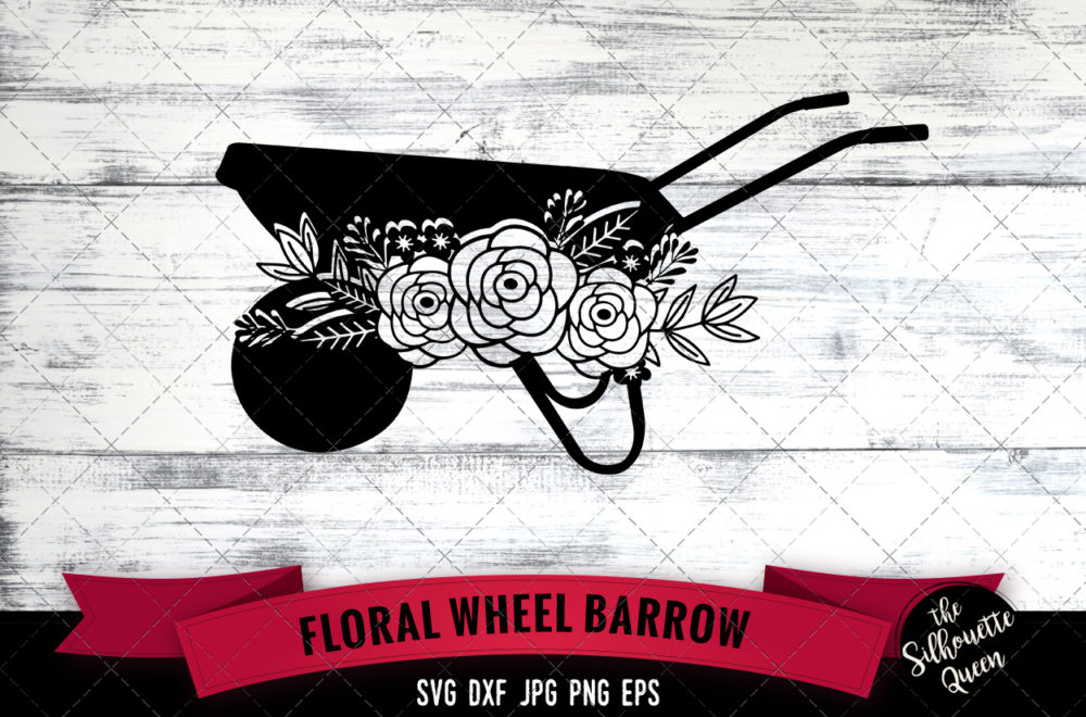 Wheelbarrow SVG file