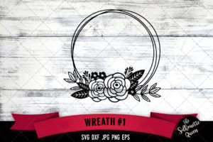 Wreath 1 SVG file