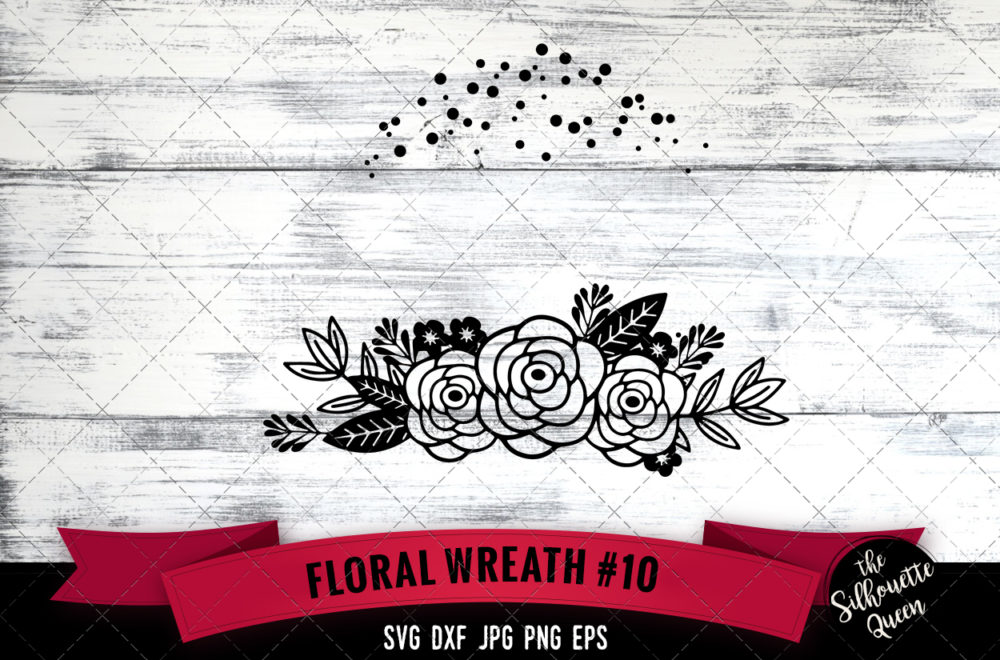 Wreath 10 SVG file
