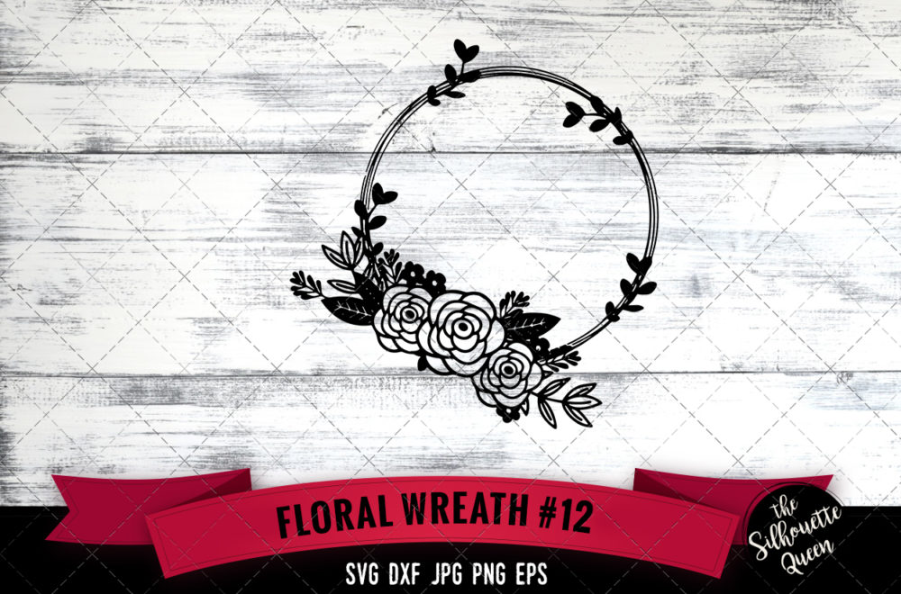 Wreath 12 SVG file