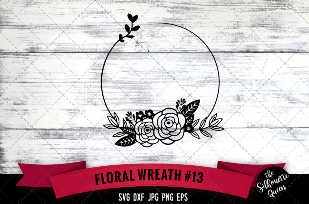 Wreath 13 SVG file
