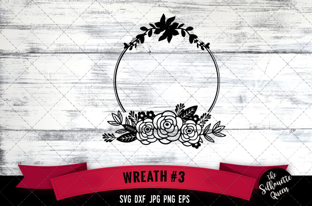 Wreath 3 SVG file