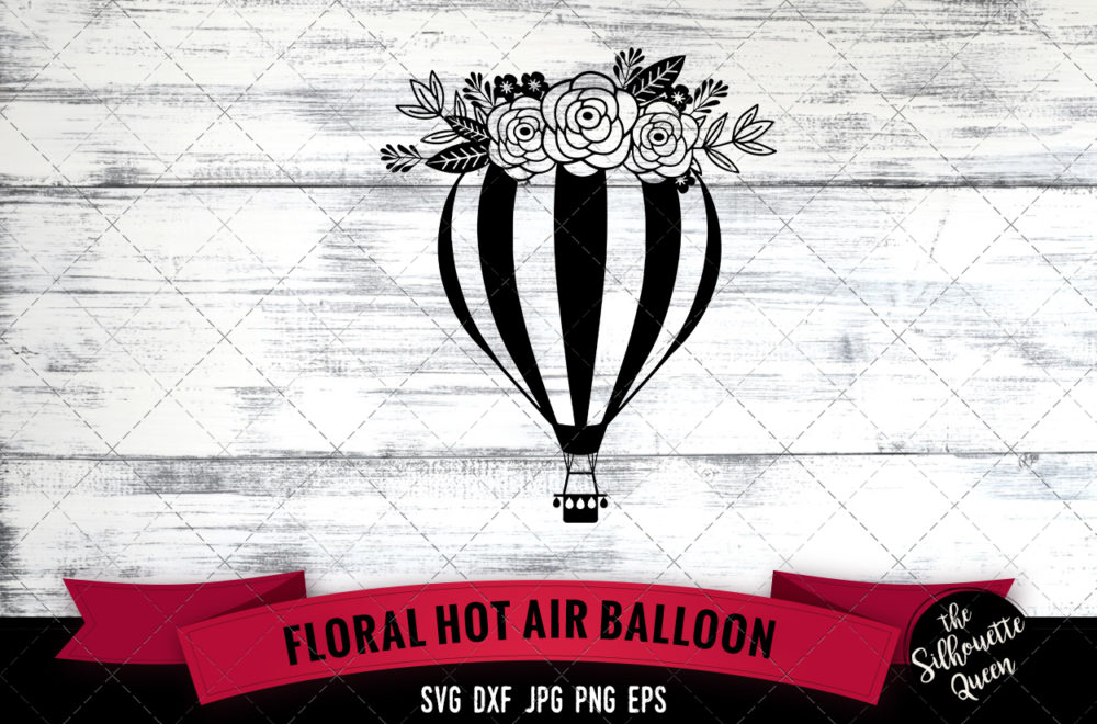 Hot Air Balloon SVG file