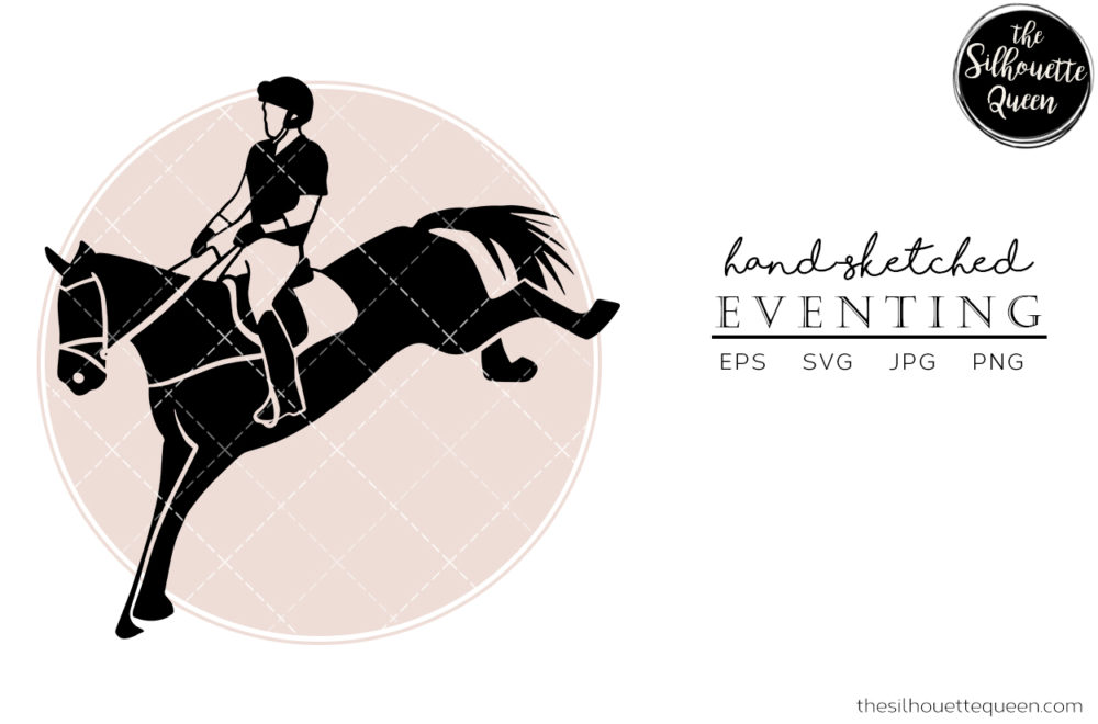 Hand drawn Eventing 1  Vector Sketch
