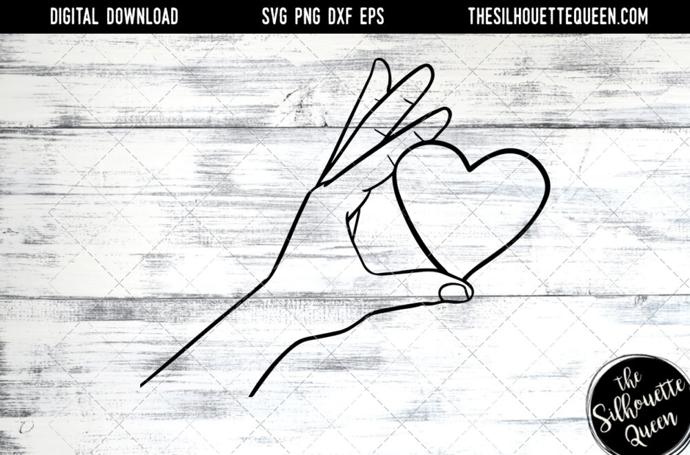 Hand Sketched hand holding heart Gay Pride