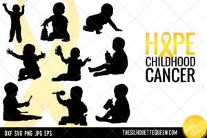 Childhood Cancer Awareness svg