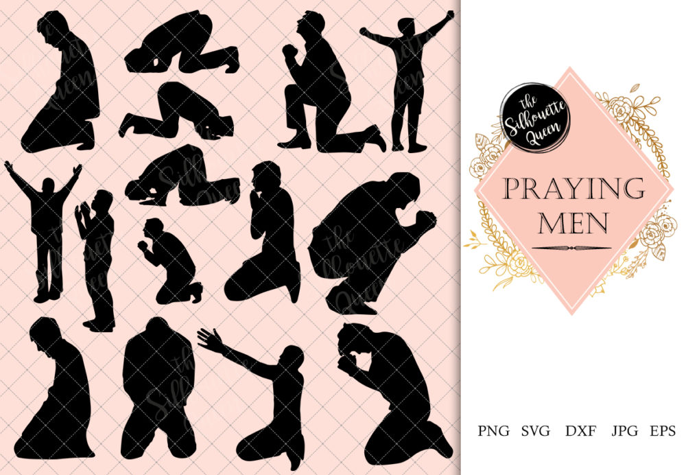 Man Praying svg