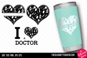 Doctor heart SVG