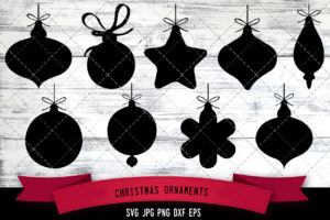 Christmas Ornaments svg