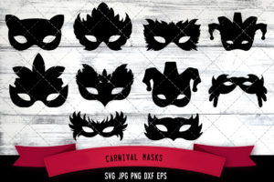 Carnival Masks svg