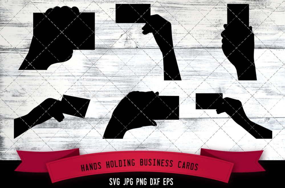 Hands holding svg