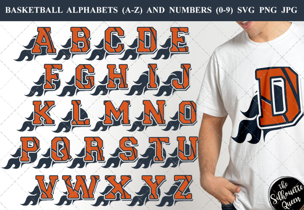 Basketball alphabet a-z