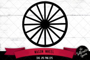 Wagon Wheel svg