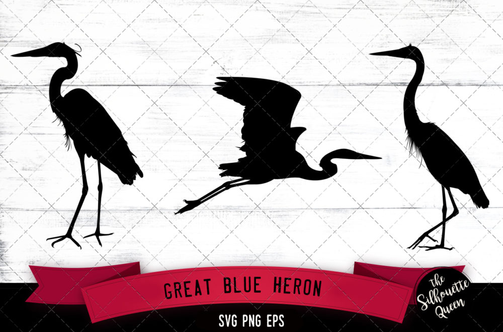 Great heron svg