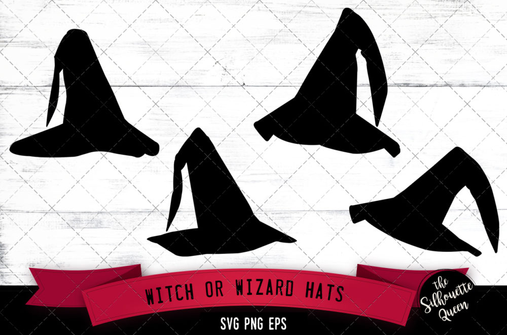 Witch hat svg