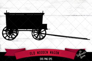 Old wagon svg